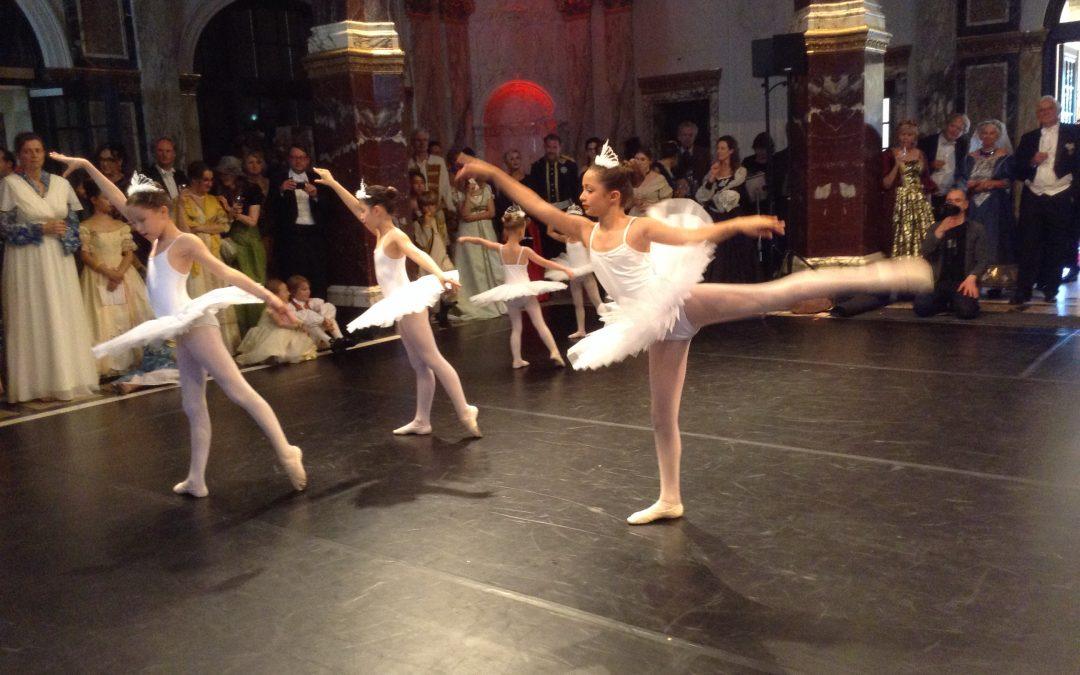 Swan Lake ballet in Royal Tropen Institute, Amsterdam